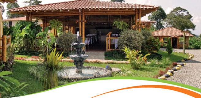 Quindio Turismo Eco Hotel Santa Barbara Montenegro Quindio